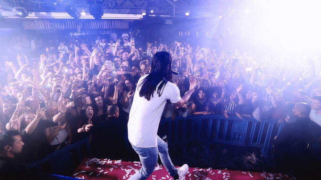 Steve Aoki en sutton club