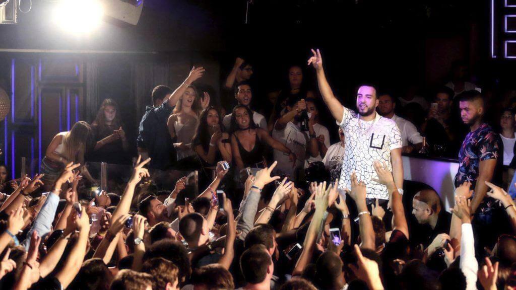 French Montana en sutton club