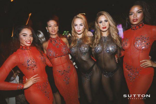bailarinas de sutton club