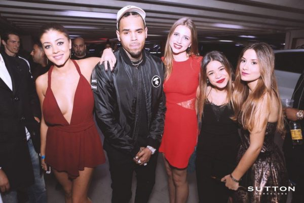 chris brown en sutton club